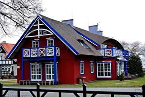 Hintergrundbilder Litauen Gebäude Design Curonian Lagoon Nida