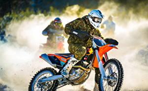 Wallpapers Helmet Motorcyclist Sport Motorcycles