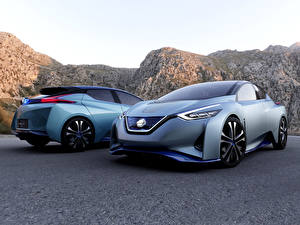 Pictures Nissan Tuning Light Blue Two 2015 Nissan IDS Cars