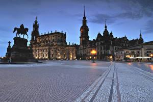 Bilder Deutschland Denkmal Haus Dresden Straße Städte