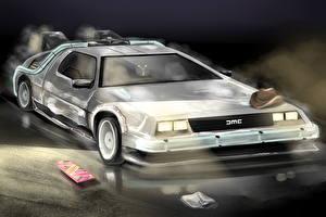 Image Back to the Future DeLorean DMC-12 Cars