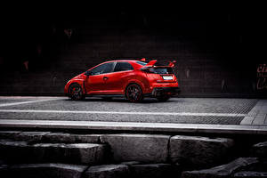 Wallpapers Honda Red 2015 Civic Type R Cars