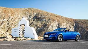 Images Audi Cabriolet Blue 2014 TTS Coupe Cars