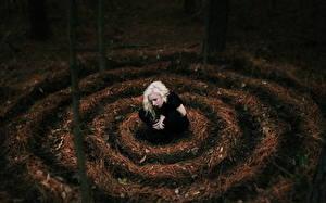 Bilder Gotische Blond Mädchen junge frau
