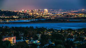 Fotos USA Haus San Diego Megalopolis Nacht