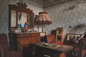 Wallpaper Interior Lounge sitting room Room Lamp