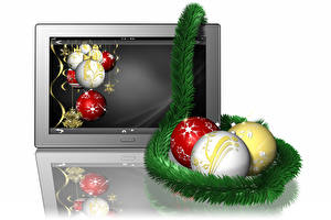 Pictures Christmas Balls 3D_Graphics
