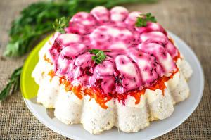 Desktop wallpapers Salads Closeup Food