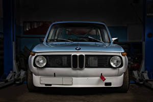 Desktop wallpapers BMW Tuning Garage Front Headlights 2002 Turbo Sport KB Cars