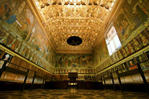 Fotos Spanien Tempel Toledo Decke (Bauteil)