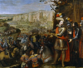 Wallpaper Pictorial art War Vincenzo Carducci