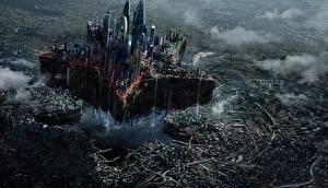 Hintergrundbilder Moskau Ruinen Fantastische Welt Fantasy Städte