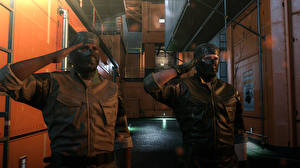 Pictures Metal Gear Man Masks Two vdeo game 3D_Graphics