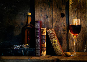 Pictures Wine Retro Books Stemware Bottles As time goes by Food