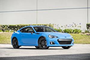 Fotos Subaru Hellblau 2016 Subaru BRZ HyperBlue