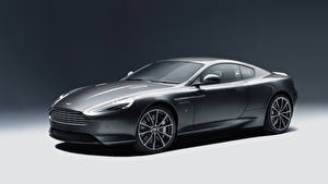 Hintergrundbilder Aston Martin Grau 2015 DB9 GT Autos
