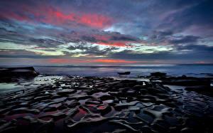 Bilder Himmel Küste Ozean USA San Diego Natur