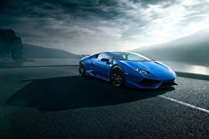 Pictures Lamborghini Blue Luxury Novitec Torado, Huracan auto