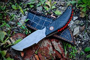Photo Knife Closeup Sterch Karakurt Army