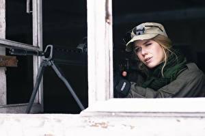 Bilder Gewehr Scharfschützengewehr Baseballkappe Scharfschütze Heer