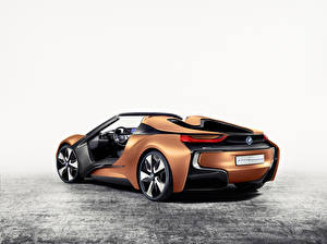 Image BMW Convertible Back view 2016 iVision Future Interaction automobile