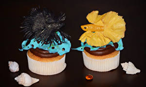 Photo Confectionery Little cakes Fish - Food 2 Design Food