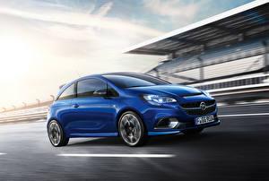 Bilder Opel Blau 2015 Corsa