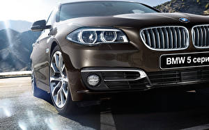 Picture BMW Front Headlights 2015 5 series Touring F11 auto