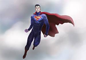 Bakgrunnsbilder Superhelter Supermann helten En mann Kappe plagg
