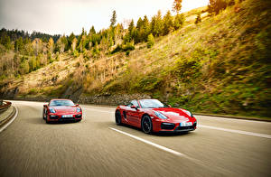 Images Porsche Red 2 Motion 2014 911 Carrera 4 GTS Coupe 991 auto