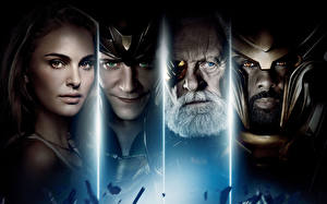 Images Thor Man Face Jane Foster, Loki, Odin, Heimdall film Girls Celebrities
