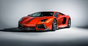 Fotos Lamborghini Luxus Orange 2015 lp-700-4 aventador