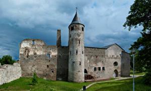 Bilder Estland Ruinen Burg Haapsalu Castle