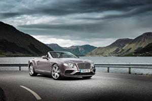 Bilder Bentley Luxus Cabriolet 2015 Continental GT V8 automobil