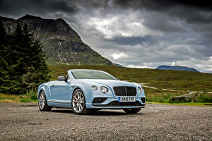 Hintergrundbilder Bentley Cabriolet 2015 Continental GT Convertible automobil