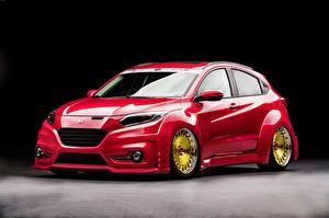 Wallpaper Honda Red HR-V Cars