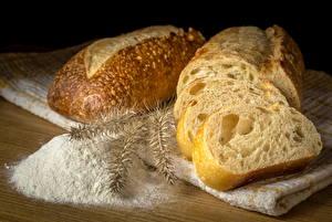 Fotos Brot Mehl Ähre Lebensmittel