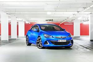 Fotos Opel Blau 2011 Astra OPC