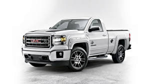 Images General Motors Company White 2015 Sierra 1500 Double Cab
