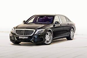 Fotos Mercedes-Benz Brabus Schwarz 2015 Brabus Rocket 900 X222 Autos