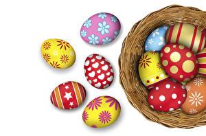 Fotos Feiertage Ostern Ei Design Nest