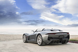 Hintergrundbilder Himmel Grau Hinten 2015 Rezvani Motors Beast Autos