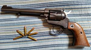 Picture Pistols Closeup Cartridge (firearms) Revolver Ruger 22