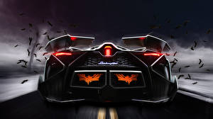 Bilder Lamborghini Hinten Luxus Egoista Autos