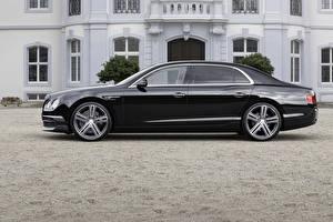 Fotos Bentley Schwarz Seitlich 2015 Startech Continental auto