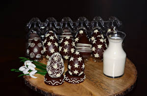 Wallpaper Easter Chocolate Confectionery Galanthus Milk Eggs Food