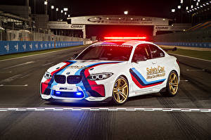 Images BMW Tuning White Police  automobile