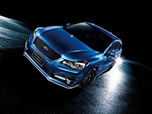 Fotos Subaru Blau Hybrid Autos 2015 Impreza Sport Hybrid auto