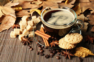 Bilder Kaffee Zimt Sternanis Tasse Getreide Lebensmittel