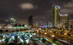 Fotos Gebäude Vereinigte Staaten Nacht San Diego Kalifornien
